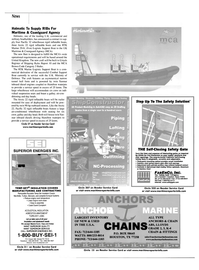 Maritime Reporter Magazine, page 8,  Apr 2002 News Halmatic To Supply RIBs For Maritime & Coastguard Agency