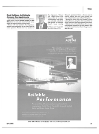 Maritime Reporter Magazine, page 13,  Apr 2002 CHRIS PEMBERTON OR BILL PFISTER