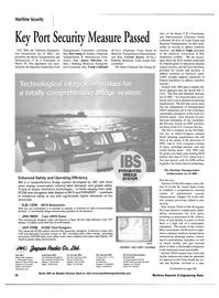 Maritime Reporter Magazine, page 14,  Apr 2002 Washington