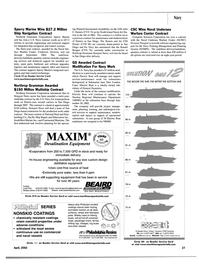 Maritime Reporter Magazine, page 25,  Apr 2002 Tasmania