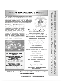 Maritime Reporter Magazine, page 1,  Apr 2002 USMMA Global Maritime and Transportation School