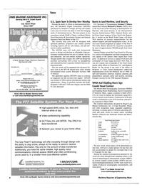 Maritime Reporter Magazine, page 4,  Apr 2002 Fleet77 technology