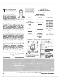 Maritime Reporter Magazine, page 6,  Apr 2002