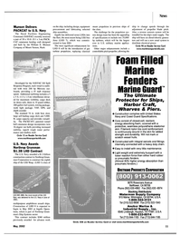 Maritime Reporter Magazine, page 11,  May 2002 California