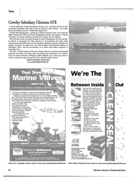 Maritime Reporter Magazine, page 24,  May 2002 Harman On Time Radio