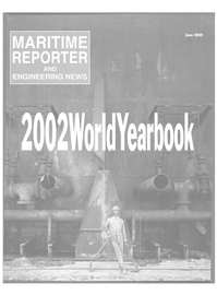 Maritime Reporter Magazine Cover Jun 2002 -