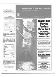Maritime Reporter Magazine, page 11,  Jun 2002