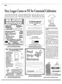 Maritime Reporter Magazine, page 3rd Cover,  Jun 2002