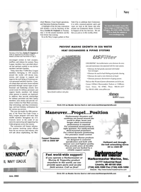 Maritime Reporter Magazine, page 4th Cover,  Jun 2002