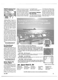 Maritime Reporter Magazine, page 11,  Jul 2002