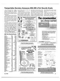 Maritime Reporter Magazine, page 21,  Jul 2002 Massachusetts