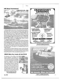 Maritime Reporter Magazine, page 23,  Jul 2002 New York