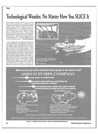 Maritime Reporter Magazine, page 26,  Jul 2002 No Matter How You SLICE It This month Sea SLICE technology