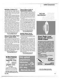Maritime Reporter Magazine, page 31,  Jul 2002 ISDN