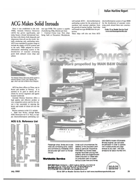 Maritime Reporter Magazine, page 4th Cover,  Jul 2002 Worldwide Service