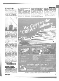 Maritime Reporter Magazine, page 9,  Aug 2002 United States Marine Corps