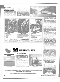 Maritime Reporter Magazine, page 10,  Aug 2002