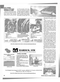 Maritime Reporter Magazine, page 10,  Aug 2002 NE Miami Court Miami