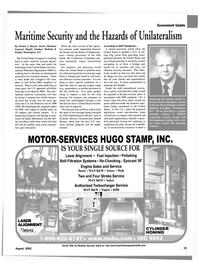 Maritime Reporter Magazine, page 15,  Aug 2002 Senate