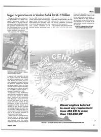Maritime Reporter Magazine, page 17,  Aug 2002