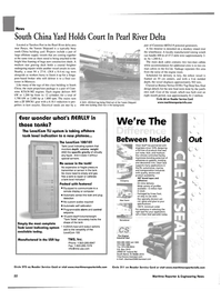 Maritime Reporter Magazine, page 20,  Aug 2002