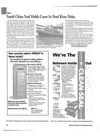 Maritime Reporter Magazine, page 20,  Aug 2002 Pearl River delta