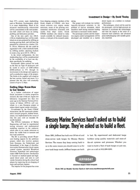 Maritime Reporter Magazine, page 23,  Aug 2002 David Tinsley