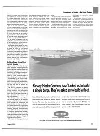 Maritime Reporter Magazine, page 23,  Aug 2002 David Tinsley