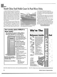 Maritime Reporter Magazine, page 24,  Aug 2002 Pearl River delta