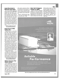 Maritime Reporter Magazine, page 25,  Aug 2002