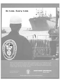 Maritime Reporter Magazine, page 1,  Aug 2002 Northrop Grumman Corporation