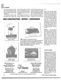 Maritime Reporter Magazine, page 28,  Aug 2002 Florida