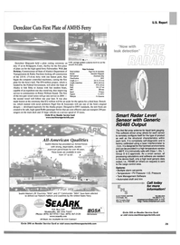 Maritime Reporter Magazine, page 31,  Aug 2002 Connecticut
