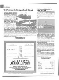 Maritime Reporter Magazine, page 6,  Aug 2002 energy