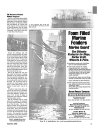 Maritime Reporter Magazine, page 11,  Sep 2002 shorelines