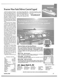 Maritime Reporter Magazine, page 15,  Sep 2002 Washington