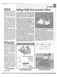 Maritime Reporter Magazine, page 21,  Sep 2002 Rhode Island