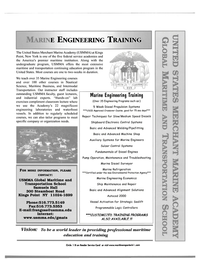 Maritime Reporter Magazine, page 1,  Sep 2002 USMMA Global Maritime and Transportation School
