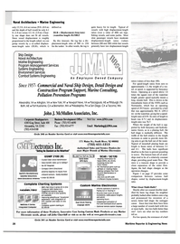 Maritime Reporter Magazine, page 28,  Sep 2002 Virginia