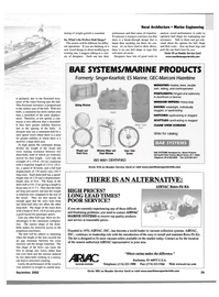Maritime Reporter Magazine, page 29,  Sep 2002 vacuum collection systems