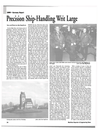 Maritime Reporter Magazine, page 4th Cover,  Sep 2002 Alan Haig-Brown Docking