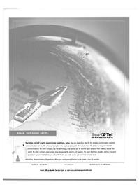 Maritime Reporter Magazine, page 5,  Sep 2002 uninterrupted satellite communications