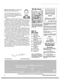 Maritime Reporter Magazine, page 6,  Sep 2002