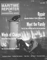 Maritime Reporter Magazine Cover Oct 2002 -