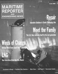 Maritime Reporter Magazine Cover Oct 2002 -