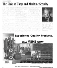 Maritime Reporter Magazine, page 12,  Oct 2002