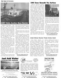 Maritime Reporter Magazine, page 20,  Oct 2002