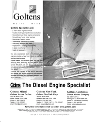 Maritime Reporter Magazine, page 1,  Oct 2002 white metal bearings