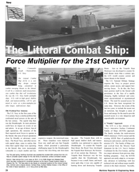 Maritime Reporter Magazine, page 28,  Oct 2002 Surface Ships