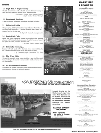 Maritime Reporter Magazine, page 2,  Oct 2002